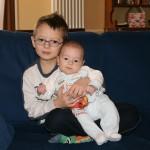21 Febbraio 2009. Matteo sta crescendo! Ha circa 3 mesi....