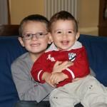 21 novembre 2009, Andrea e Matteo un anno dopo.