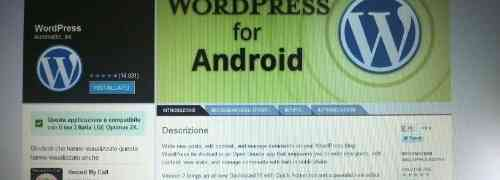 Postare dallo smartphone con WordPress per Android